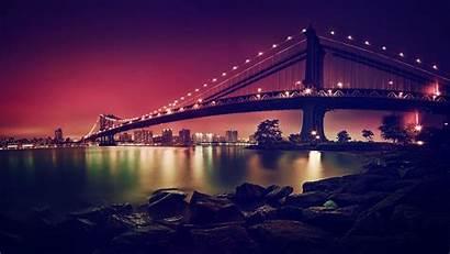 Bridge 4k Manhattan Resolution Uhd Wallpapertip