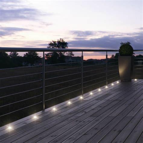 eclairage balcon noxlite kit 9 spots d ext 233 rieur led chaud 224 planter h9