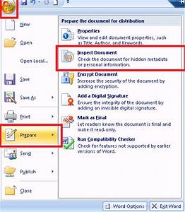 the blog files tech tip ms word remove metadata with With word documents metadata