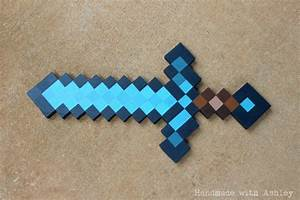 DIY Minecraft Sword (Wooden Sword Tutorial) - Handmade