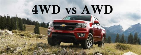 What's The Difference Between 4wd And Awd? Mccluskey
