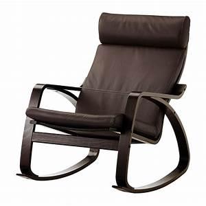 Ikea Fauteuil Salon : po ng fauteuil bascule glose brun fonc ikea ~ Teatrodelosmanantiales.com Idées de Décoration