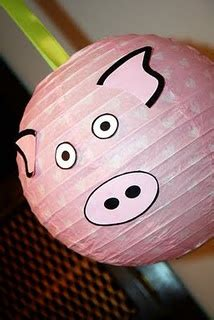 pink flying pig outside christmas decoration 17 best images about piggy balloon lantern