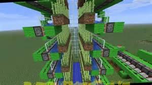 Minecraft 100  Automatic Sugar Cane Tower Schematic
