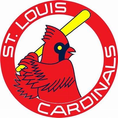 Cardinals Louis St Clipart Stl Baseball Logos