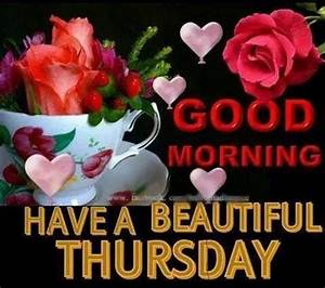 Good Morning Happy Thursday Quotes Messages for Him ...