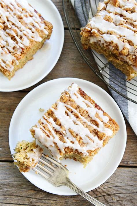 This zucchini cake is a delicious spice topped with a perfectly thick cream cheese frosting. Brown Butter Zucchini Coffee Cake (With images) | Coffee ...