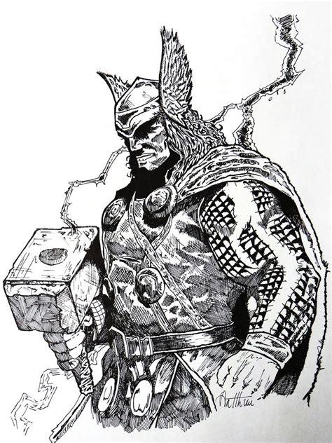 thor god of thunder by theoldbrown on deviantart