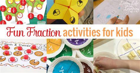 fun fraction activities  kids