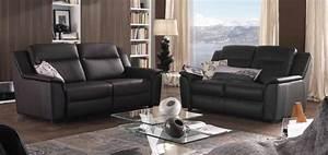canape en cuir relax maison design wibliacom With tapis rouge avec canape de relaxation chateau d ax