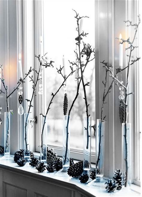 Weihnachtsdeko Fenster Baum by Weihnachten Deko Auf Dem Fenster Wei 223 E Farbe Baum Zweige
