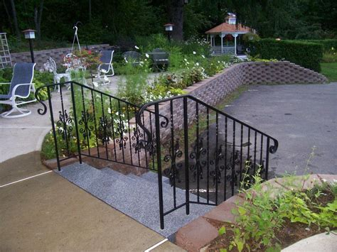 Wrought Iron Railings For Porch Stairs