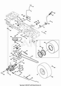 Mtd 13an775s000  2013  Parts Diagram For Transmission