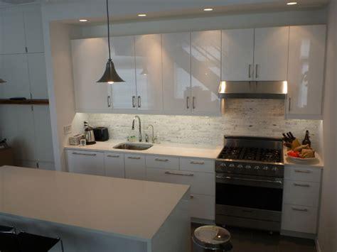 wall of kitchen cabinets ikea kitchen abstrakt white manhattan contemporary 6954