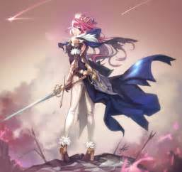 Anime Weapon Wallpaper - hair pink hair anime anime armor sword