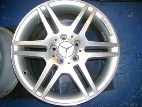 mercedes benz  class amg factory wheels  set