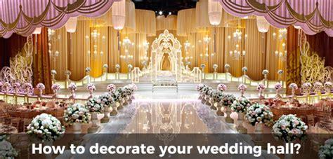 best ideas for decorating wedding hall wedding venue decoration