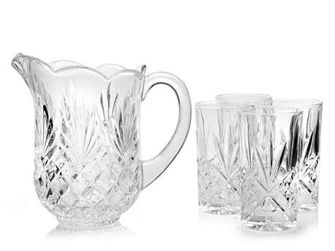 Godinger Dublin 5-piece Crystal Drink Set