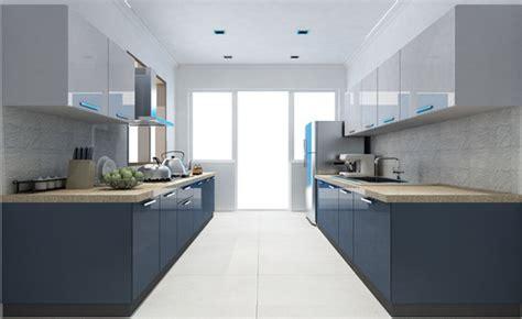 parallel modular kitchen  rs   modular