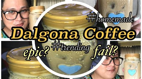 The instant coffee, sugar, and water are first whipped up to create an irresistible. How to make Dalgona Coffee: Home made (3 ingredients) is it? EPIC or FAIL - YouTube