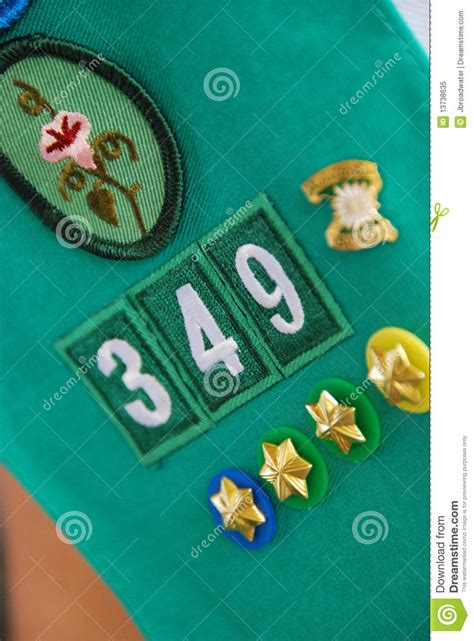 Scouting Badges Royalty Free Stock Photo - Image: 13738635