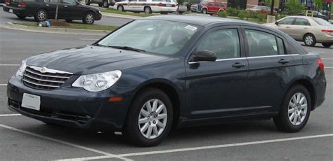 2007 Chrysler Sebring Limited by 2007 Chrysler Sebring Limited Sedan 2 4l Auto