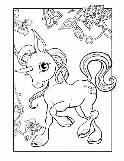 Unicorn Coloring Pages Pdf Unicorns Princess Horses