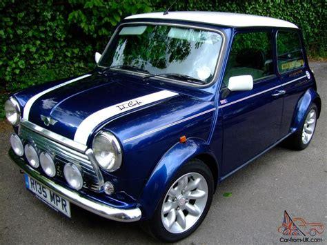 Mini Cooper Blue Edition Hd Picture by Classic Mini Cooper Sport Edition Photo Garage
