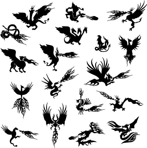 Free vector icons in svg, psd, png, eps and icon font. SVG > mythical bird phoenix - Free SVG Image & Icon. | SVG ...