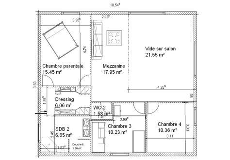 plan chambre parentale plan chambre parentale avec salle de bain et dressing