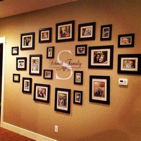 Living Room Decorating Ideas Picture Frames by 20 Ideas Of Family Wall Picture Frames Wall Ideas