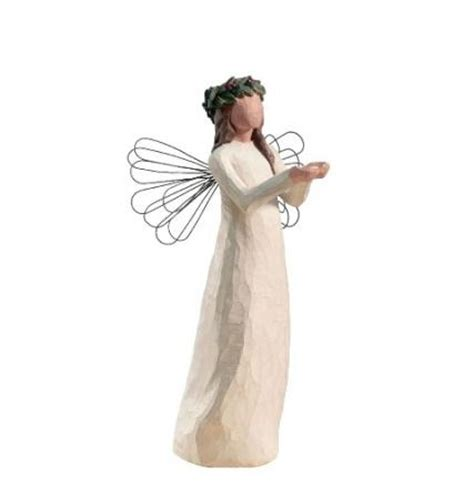 willow tree angel of christmas spirit threelittlebears co uk