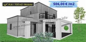 Plan Maison Pas Cher : plan maison moderne pas cher ~ Melissatoandfro.com Idées de Décoration
