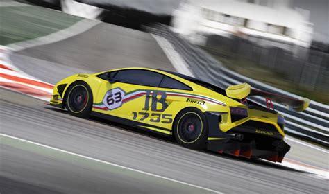 lamborghini reveals  super trofeo race car hints