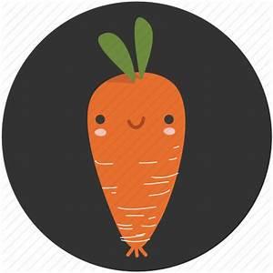 Carrot, cartoon, clean food, ingredient, vegetable ...