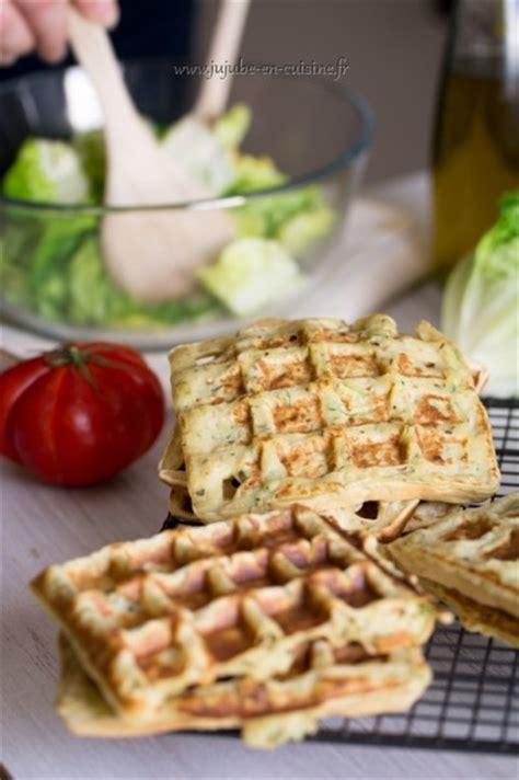 cuisiné la courgette gaufres salées à la courgette jujube en cuisine
