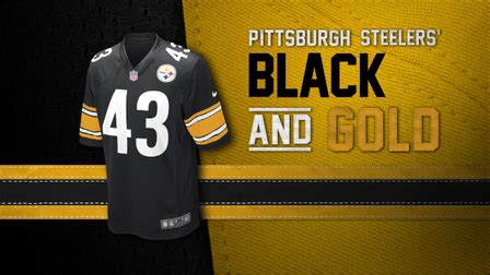 what are the steelers colors evolution of the steelers colors nfl