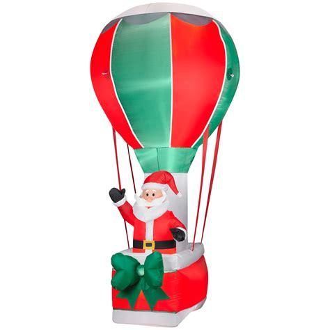 santa  balloon inflatable christmas decoration fly