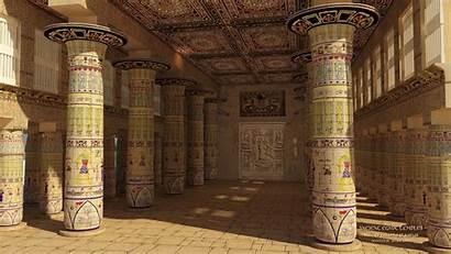 Egypt Ancient Pc Temple Mesir Inside Egyptian