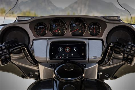 harley davidson introduces  upgraded infotainment