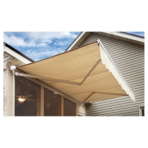 Retractable Awning by Castlecreek Retractable Awning 234396 Awnings Shades