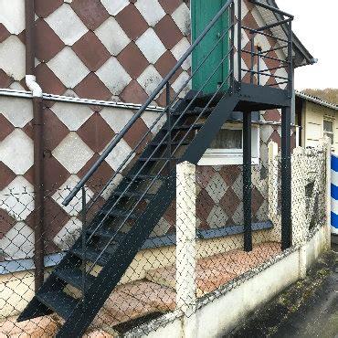 escalier metallique exterieur prefabrique escalier m 233 tallique ext 233 rieur proradia fr