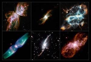 Bizarre Alignment Of Planetary Nebulae