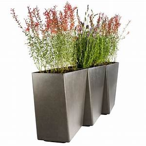 Planters astonishing contemporary outdoor planters for Modern outdoor planters