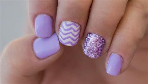 Purple Toenail Polish
