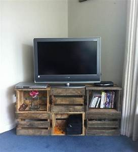 Fabriquer Un Meuble Tv Instructions Et Modles DIY