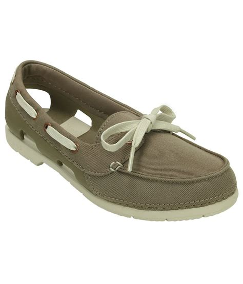 Crocs Boat Shoes Review by Crocs Relaxed Fit Line Hybrid Boat Shoe W Price In