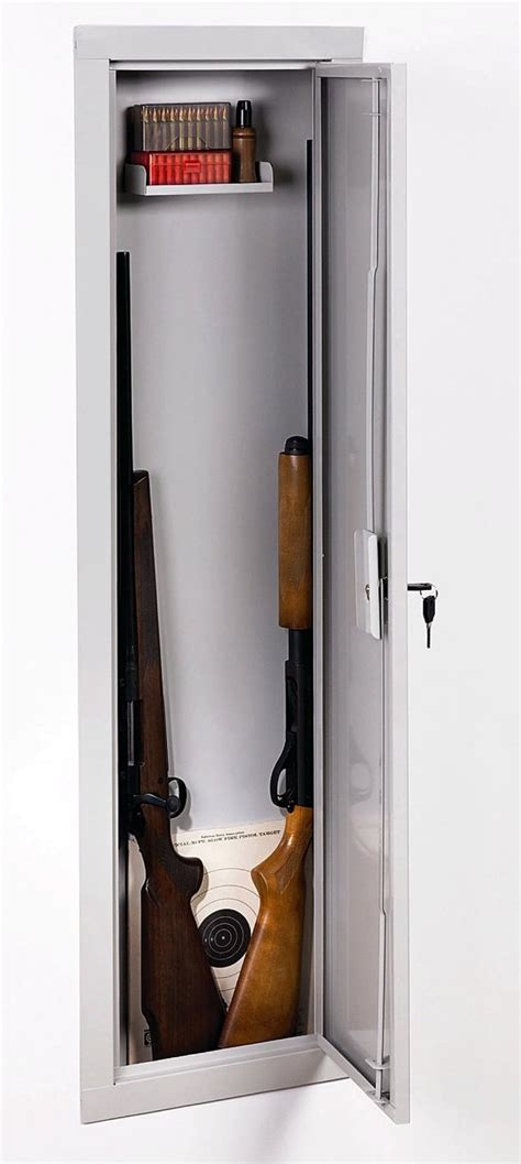 shelf gun safe stack on iwc 55 length in wall cabinet 4203