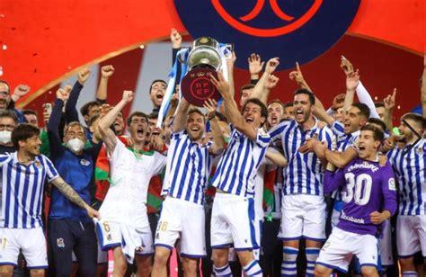 Real Sociedad edge Athletic Bilbao to win Copa del Rey ...