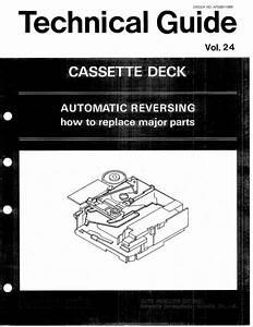 Free Download Technics Technical Cassette Deck Guide Vol 24